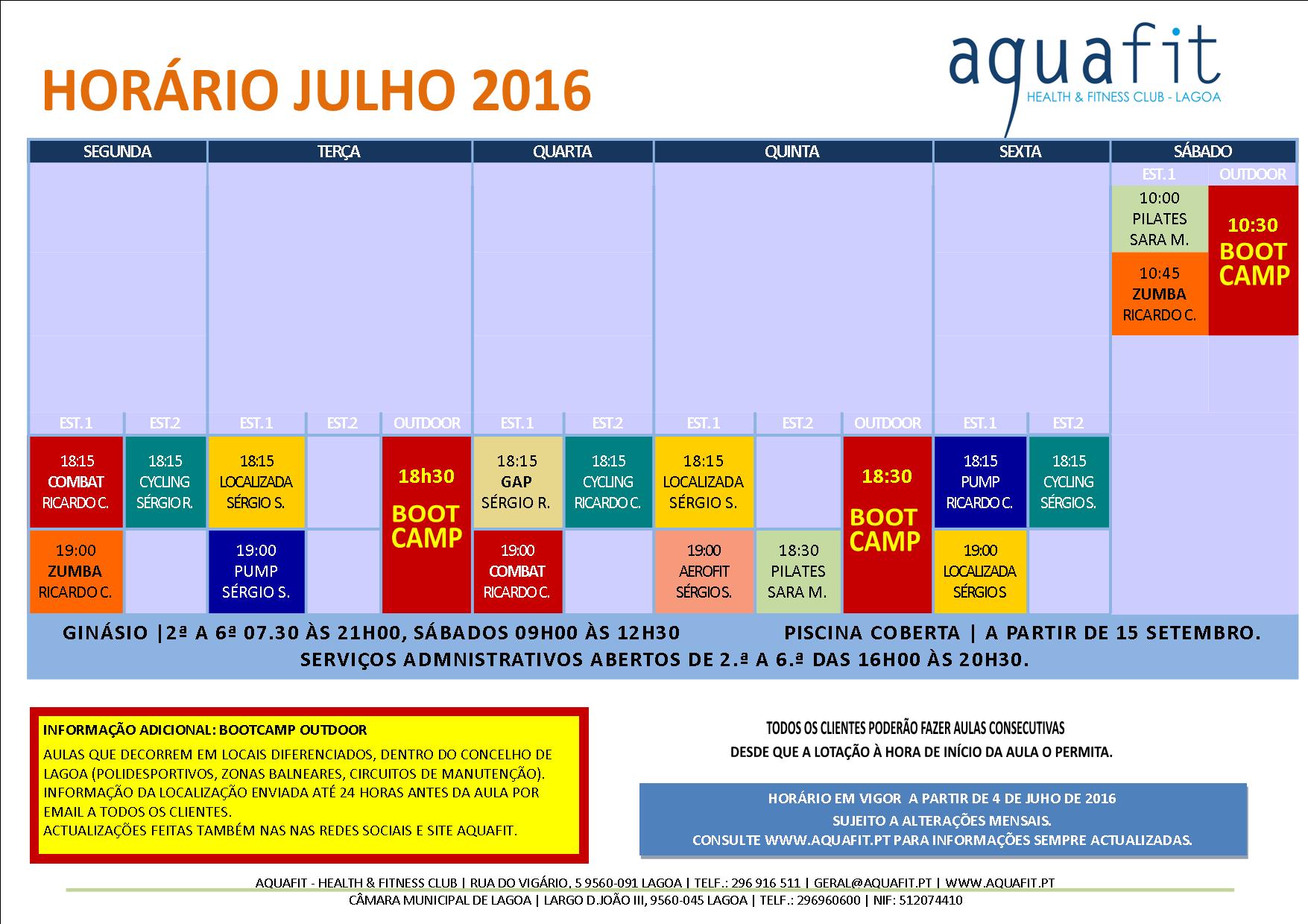 Aquafit hor rios est dios e piscina for Horario piscina alaquas