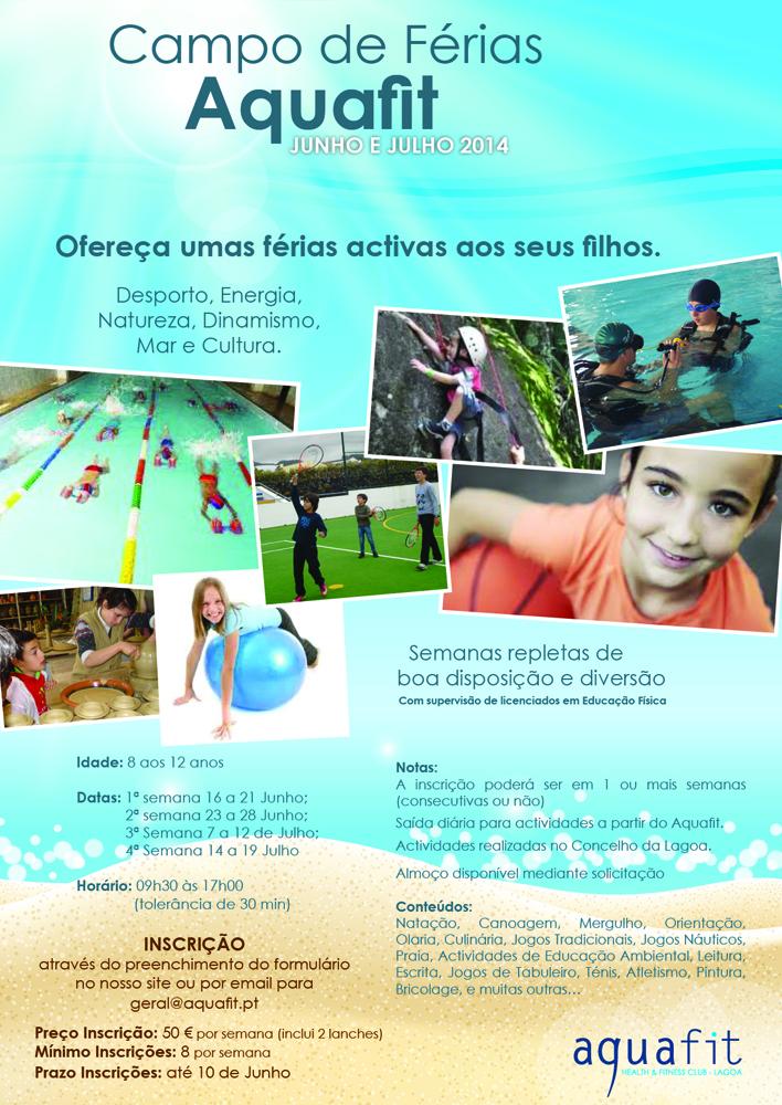 Cartaz - Campo Ferias Aquafit