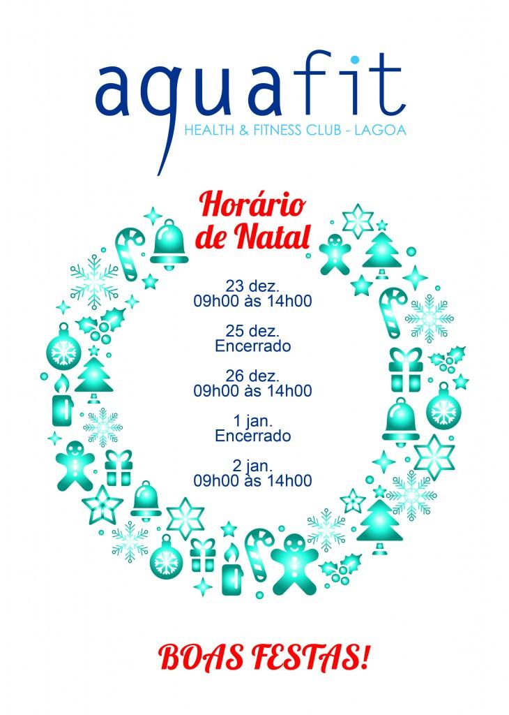 Horário de Natal Aquafit 2017