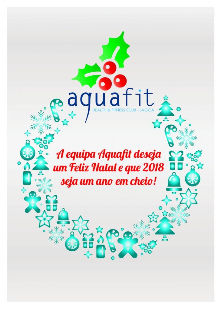 Postal de Natal Aquafit 2017