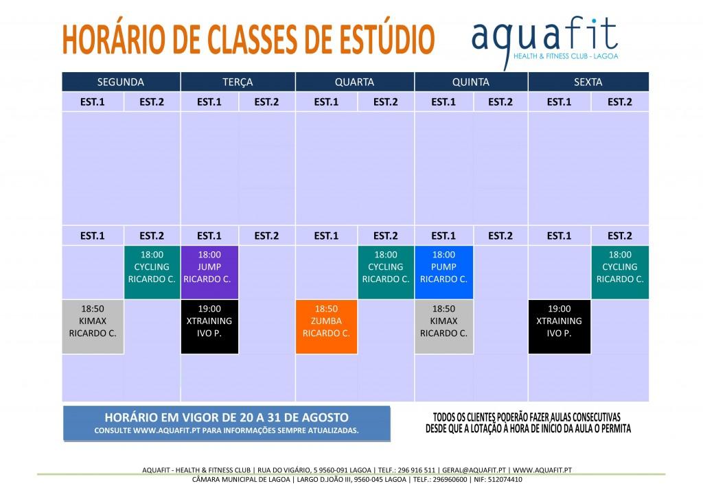 HORÁRIOS 2017-2018 - estúdios - 20 A 31 AGOSTO